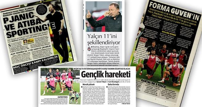 Manşetlerle Beşiktaş! (13 Ekim)