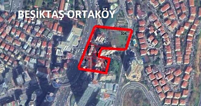 Beşiktaş'taki askeri lojmanların yerine AVM ve rezidans dikilecek