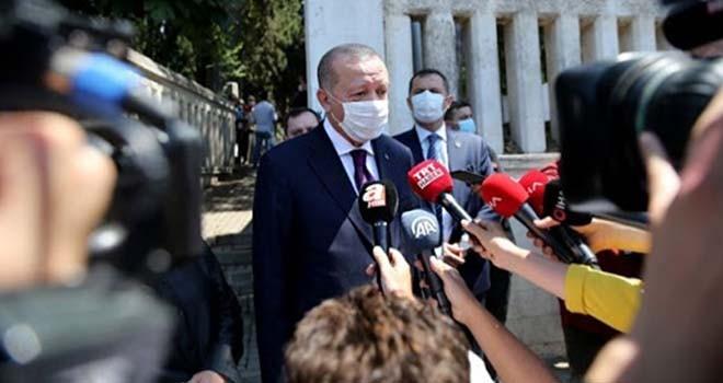 Cumhurbaşkanı Erdoğan'dan bayram uyarısı
