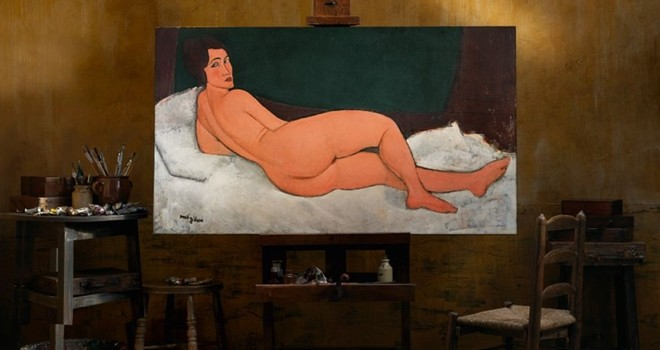 Mondigliani'nin tablosu rekor fiyatla müzayedede