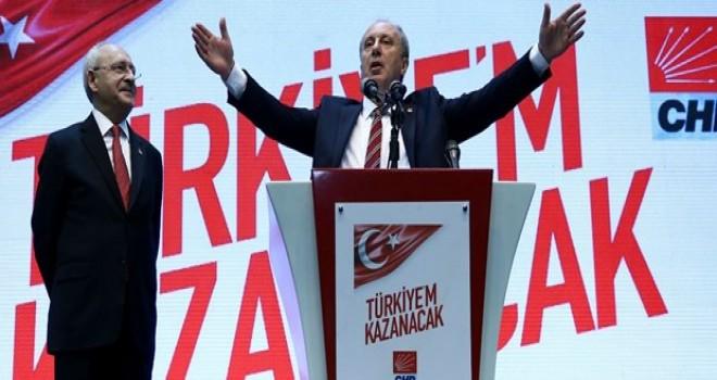 Muharrem İnce CHP'nin cumhurbaşkanı adayı oldu