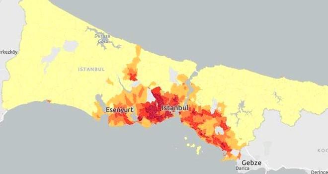 İstanbul Kırılganlık Haritası'na göre Korona'da riskli bölgeler