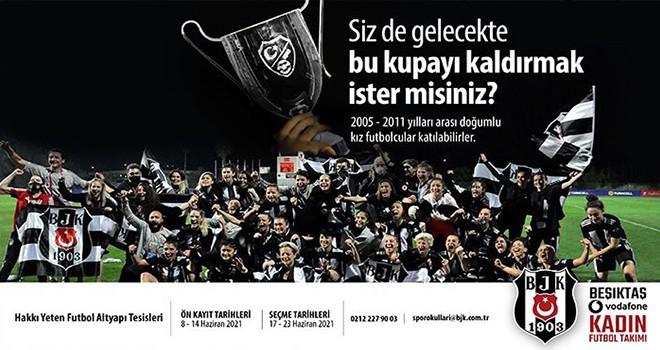 Beşiktaş'ta geleceğin Kartaliçeleri seçiliyor!..