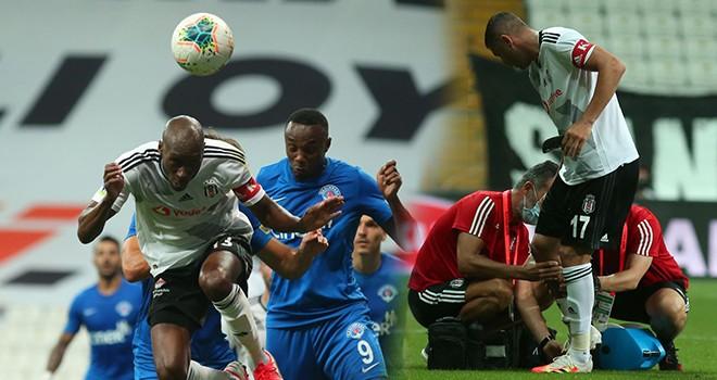 Beşiktaş'ta şok! İki kişi sakatlandı, Atiba cezalı