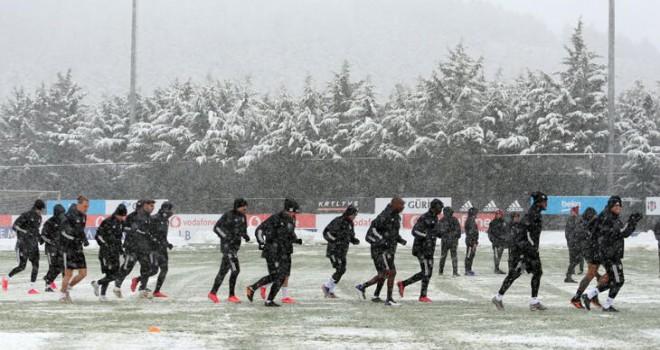 Maçta hafif sağanak kar yağışı bekleniyor