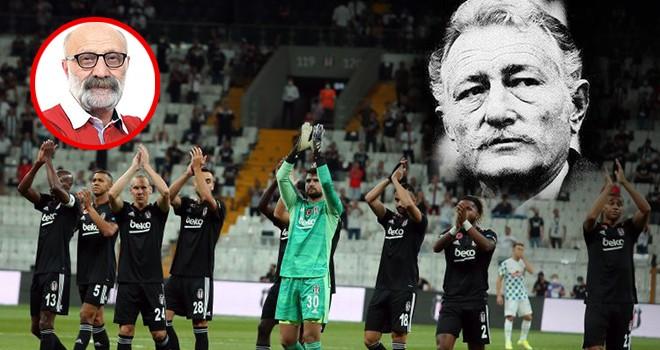 Usta yazar Bilal Meşe'den maç yorumu: Beşiktaş ilk maçı Süleyman Seba'ya armağan etti