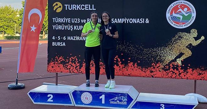 Beşiktaş Atletizm Takımı sporcularından 8 derece