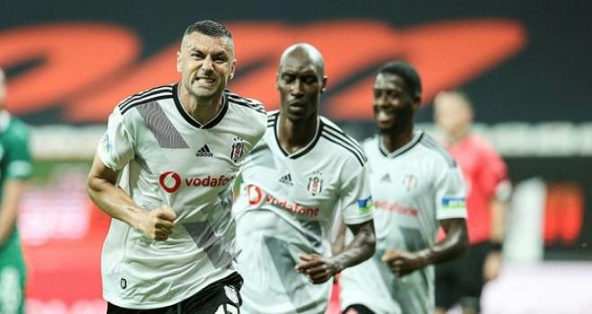 Beşiktaş maçı 3-0 kazandı