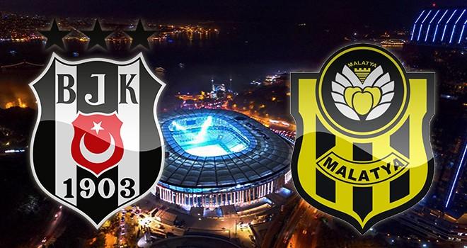 Beşiktaş - Malatyaspor karşı karşıya