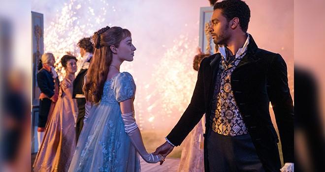 Netflix'ten romantik dönem dizisi Bridgerton