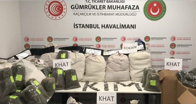 İstanbul Havalimanı'nda dev uyuşturucu operasyonu