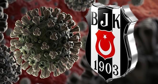 Beşiktaş'ta bir futbolcuda covid-19 testi pozitif çıktı