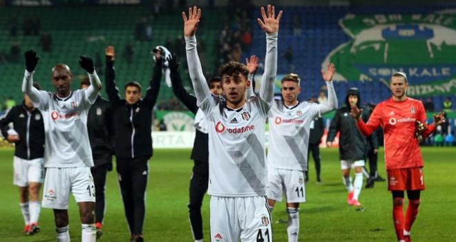 Rizespor - Beşiktaş maç sonucu: 1-2