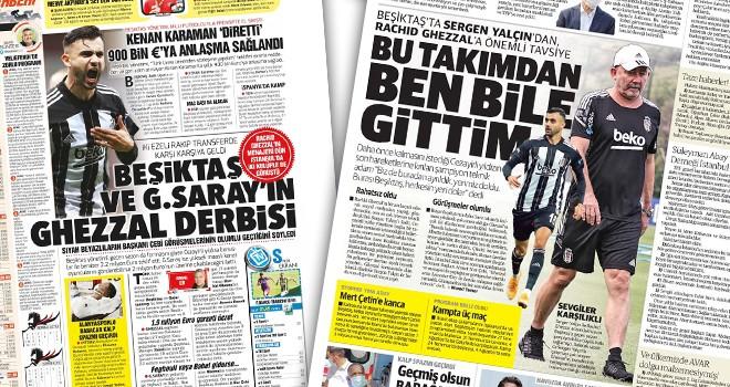 Günün Beşiktaş manşetleri (9 Temmuz)