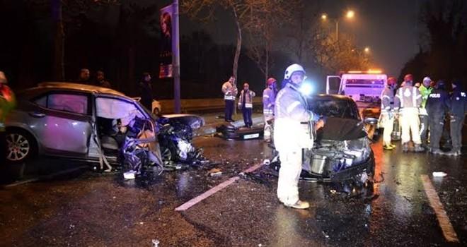 Ters yönde giden alkollü sürücü tehlike saçtı