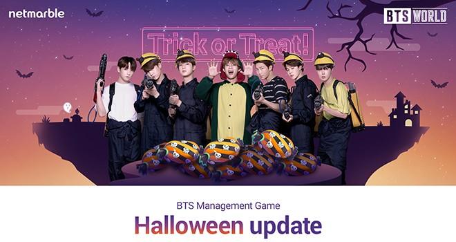 BTS WORLD ile Cadılar Bayramı eğlencesi