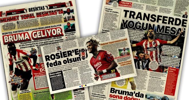 Günün Beşiktaş manşetleri (13 Temmuz)