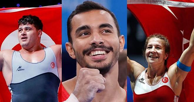 Beşiktaş JK'den olimpiyatlarda madalya kazanan sporculara tebrik