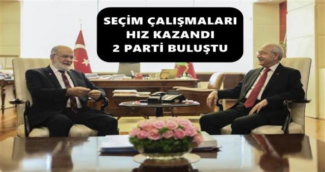 İki lider görüştü, açıklama hafta sonuna kaldı