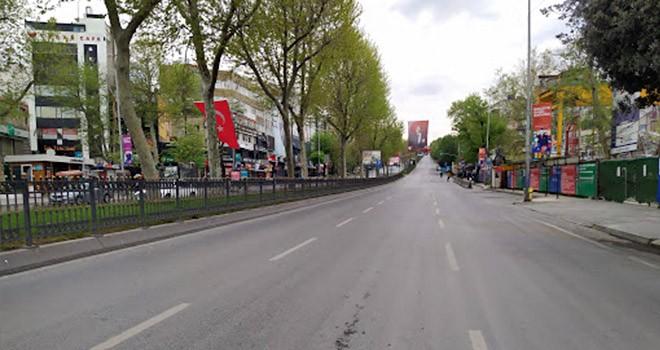 Beşiktaş'ın merkezi bölgeleri boş kaldı