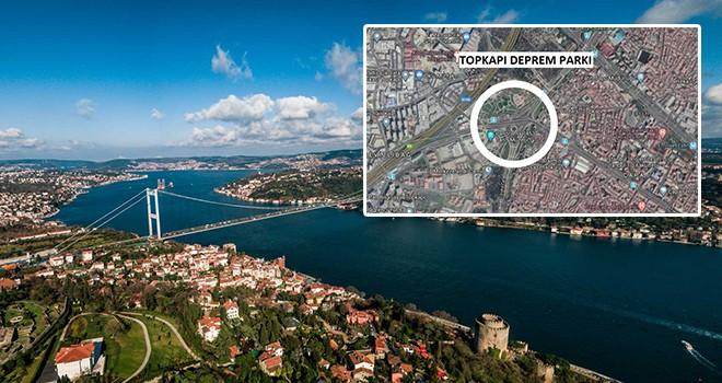 İstanbul'un iki yakasına İBB'den deprem parkı