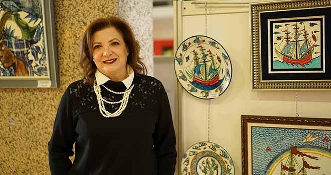 Seramik sanatına tutkuyla başlanmış bir sanatçı