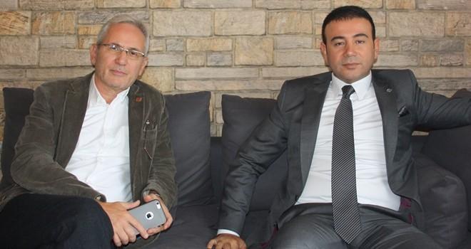 ÖZEL HABER!.. Beşiktaş Belediye Başkanı Rıza Akpolat, Gazeteci İsmail Baştuğ'a açıkladı. Yeşil alan geliyor!