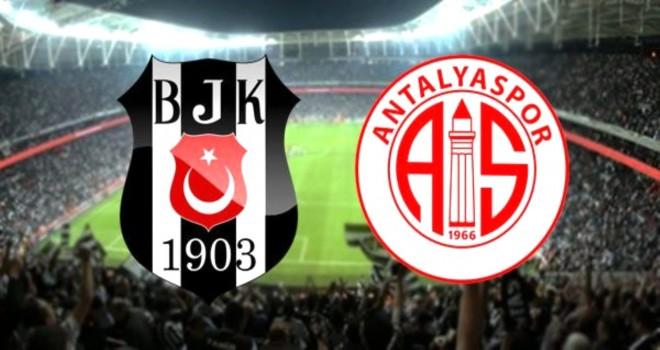 Beşiktaş Antalyaspor'la 1-1 berabere kaldı