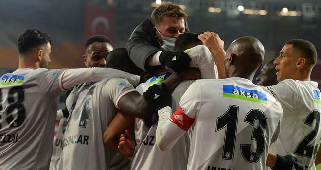 Başakşehir - Beşiktaş maç sonucu: 2-3