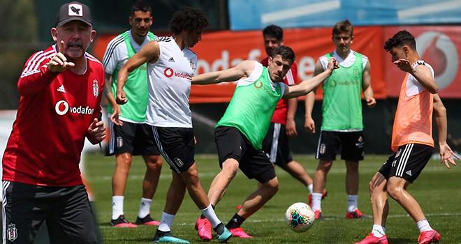 Beşiktaş'ta lig hazırlıkları sürüyor