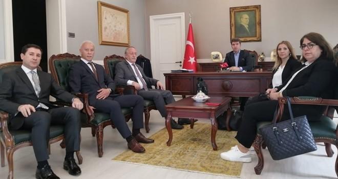 Beşiktaş Muhtarları kaymakamlık ve emniyette!