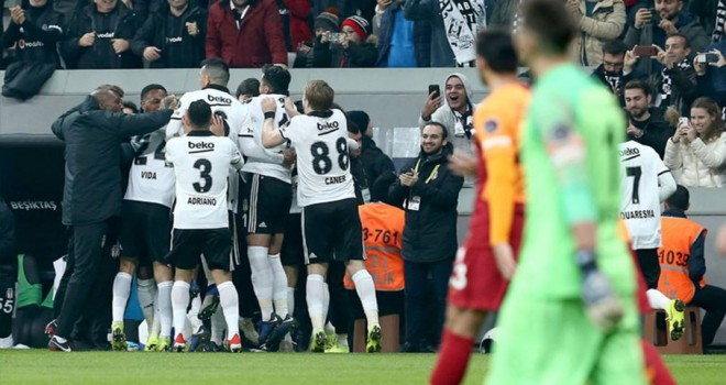 Beşiktaş adım adım liderliğe gidiyor