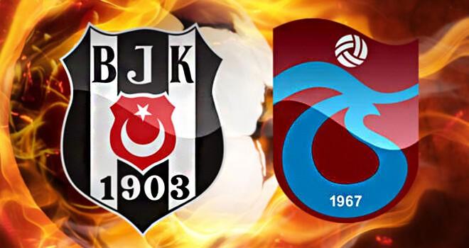 Lig'in 23. haftasında Beşiktaş'ın rakibi Trabzonspor