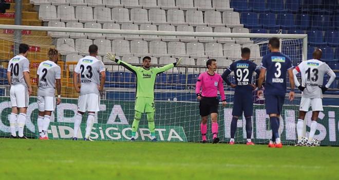 Kasımpaşa - Beşiktaş maç sonucu: 1-0