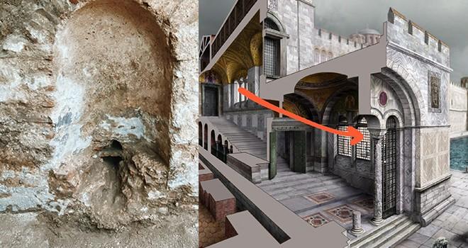 İstanbul'un kayıp sarayı Bukoleon'da 1600 yıllık Bizans çeşmesi bulundu