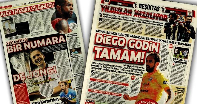 Manşetlerle Beşiktaş! (27 Temmuz)