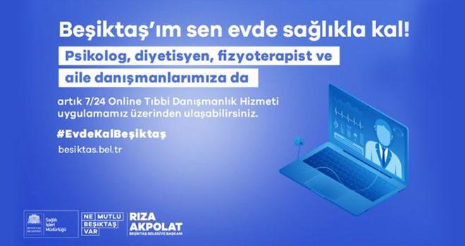 Beşiktaş Belediyesi'nin hizmetleri online platformda