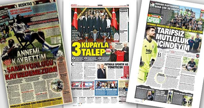 Günün Beşiktaş manşetleri! Siyah-beyazlı futbolculardan çok özel açıklamalar...