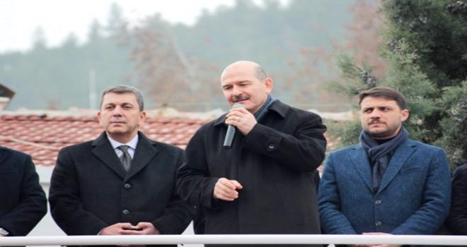 Süleyman Soylu, bomba yüklü araç yakalandı