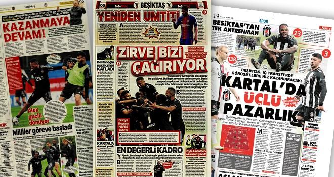 Beşiktaş manşetleri (14 Ekim)