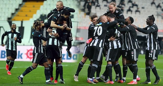 Beşiktaş 3 puanı 3 golle aldı!