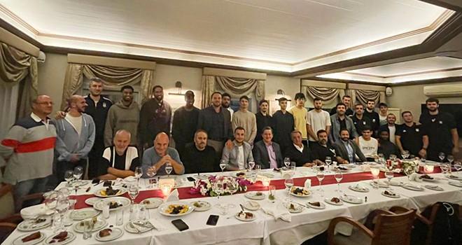 Başkan Çebi, Beşiktaş Icrypex ile buluştu