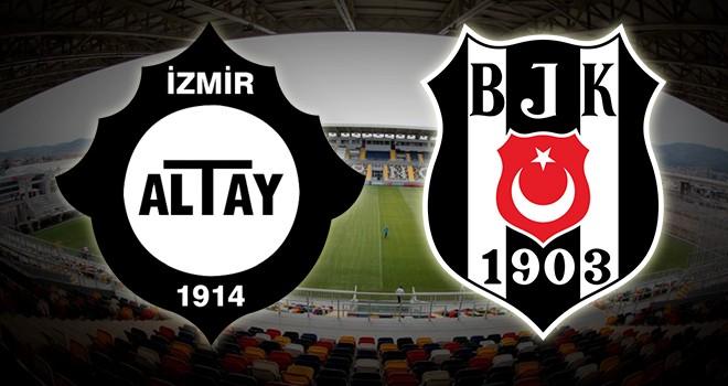 Altay - Beşiktaş karşı karşıya! İşte maçın hakemi!..