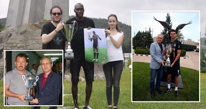 Beşiktaş Medya Grup, yılın futbolcusu kupası