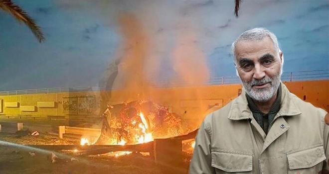 Bağdat'ta ABD operasyonunda İranlı komutan Kasım Süleymani öldü