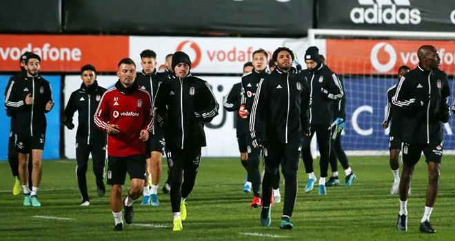 Beşiktaş'ta Kasımpaşa maç hazırlıkları tamamlandı