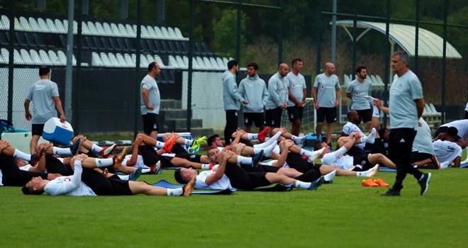 Beşiktaş antrenmanlara başladı