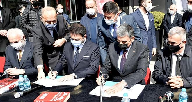Beşiktaş Belediyesi'nde toplu iş sözleşmesi imza töreni gerçekleşti