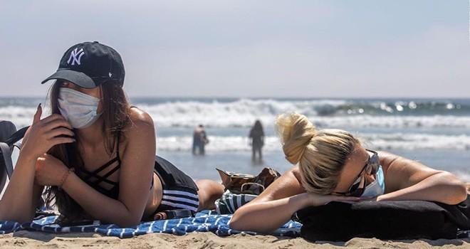 Gençler plajlara gitti vaka sayısı arttı