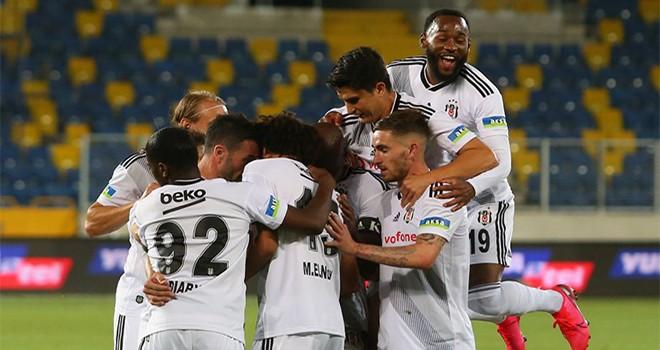 Beşiktaş sona doğru açıldı: 3. bitirdi!
